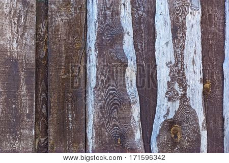 Wooden background. Close up of the old wooden planks as abstract background.