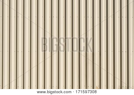 Brownish Color Metal Wall with Stripes for your Copy