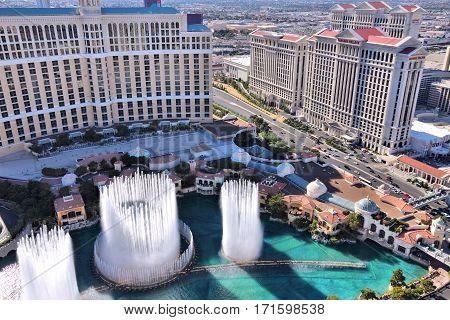 Vegas Fountains