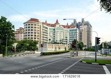 Morning In Singapore