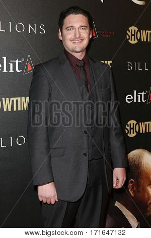 Actor Toby Leonard Moore attends the