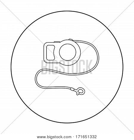 Pet lead icon of vector illustration for web and mobile design