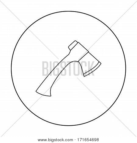 Axe icon of vector illustration for web and mobile design
