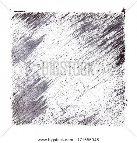 Gray stenciled abstract background with slanting strokes -  space for your own text - raster illustration