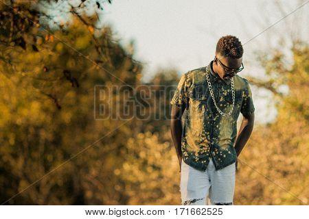 Teenage Male Model
