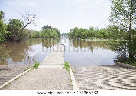 Lake Boat Ramp