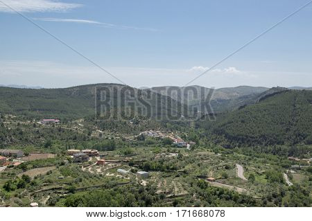 Bejis Mountains in Castellon in Valencia Spain