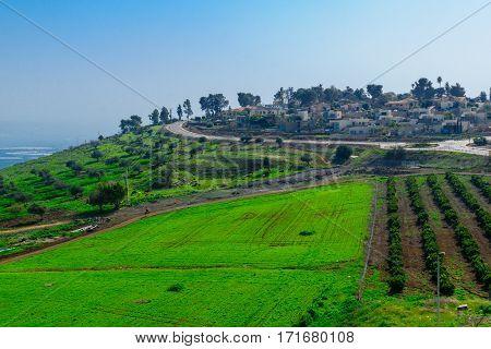 Kibbutz Alumot And Nearby Countryside