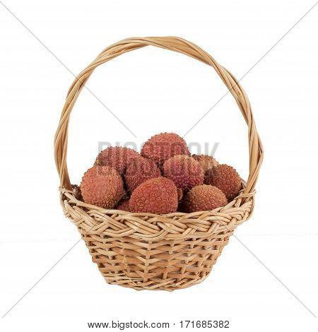 basketry food handmade macro basket sweet isolated