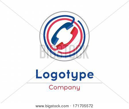 Corporate vector logo design template Isolated on a white background