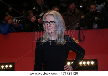 Sally Potter during the 'The Party' premiere during the 67th Berlinale  Film Festival Berlin at Berlinale Palace on February 13, 2017 in Berlin, Germany.