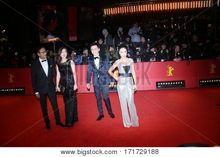 Richard Shen during the 'The Party' premiere during the 67th Berlinale  Film Festival Berlin at Berlinale Palace on February 13, 2017 in Berlin, Germany.