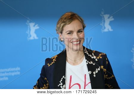 Actress Nina Hoss attends the photocall of 'Return To Montauk / Ruckkehr nach Montauk' during the 67th Berlinale Film Festival Berlin at Grand Hyatt Hotel in Berlin, Germany on February 15, 2017.