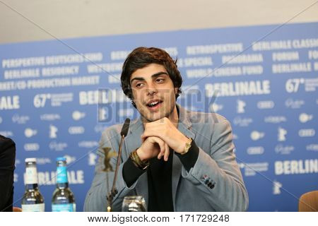 Irakli Quiricadze attends the 'Hostages' press conference during the 67th Berlinale  Festival Berlin at Grand Hyatt Hotel on February 15, 2017 in Berlin, Germany.