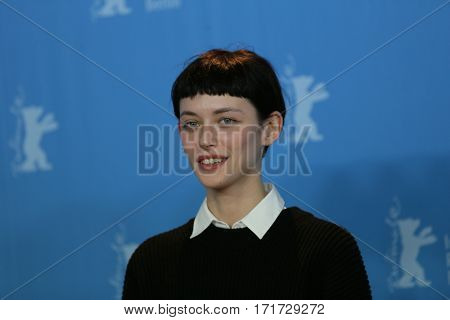 Tinatin Dalakishvili attends the 'Hostages' photo call during the 67th Berlinale International Film Festival Berlin at Grand Hyatt Hotel on February 15, 2017 in Berlin, Germany.