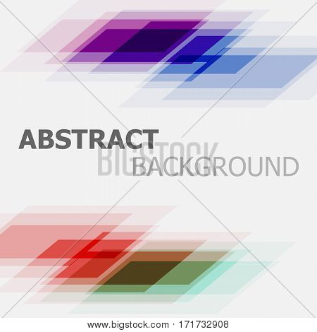 Abstract colourful business straight lines background, stock vector