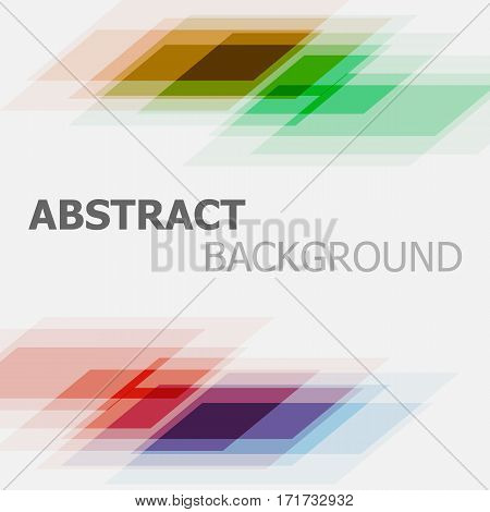 Abstract colorful business straight lines background, stock vector
