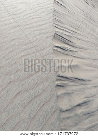Sand formation - natural background of grey colors