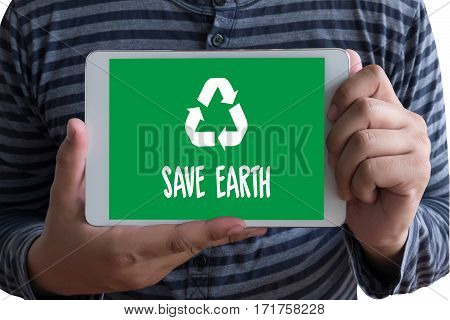 Save Earth   Ecology Solution Fresh Lush Natural Nature Life Lifestyle Concept