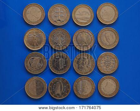 1 Euro Coin, European Union