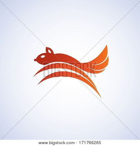 squirrel ideas design vector illustration on background