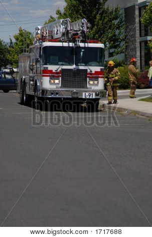 Firemen To The Aid