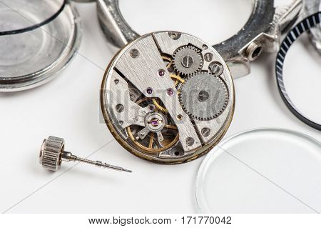 Parts Of Luxury Watch