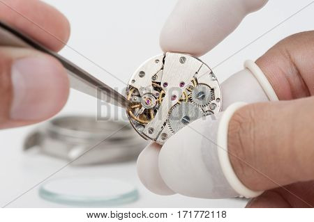 Repairing The Watch