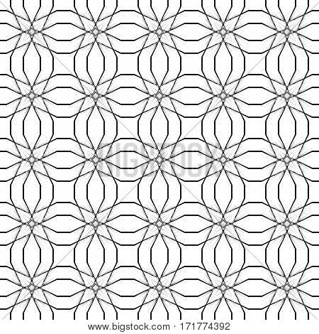 Vintage seamless texture. Element for design. Traditional decor background. vector illustration
