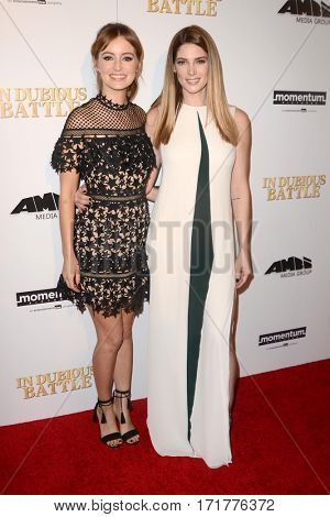 LOS ANGELES - FEB 15:  Ashley Greene, Ahna O'Reilly at the