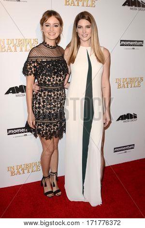 LOS ANGELES - FEB 15:  Ashley Greene, Ahna O'Reilly at the