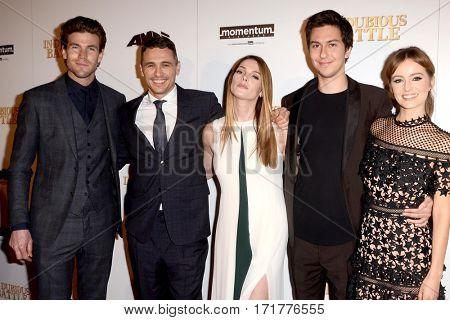 LOS ANGELES - FEB 15:  Cast members of