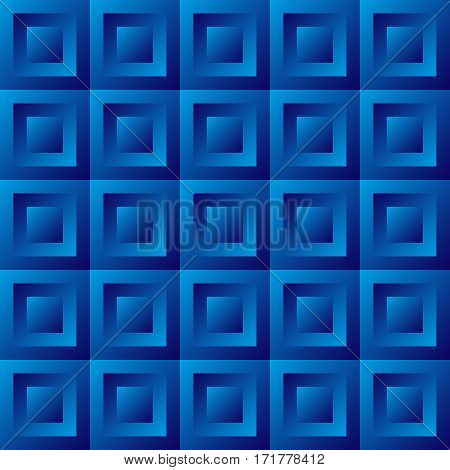 Abstract Background Blue Tiles
