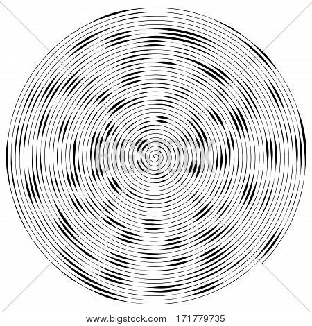 Vector illustration of Abstract circle background. .