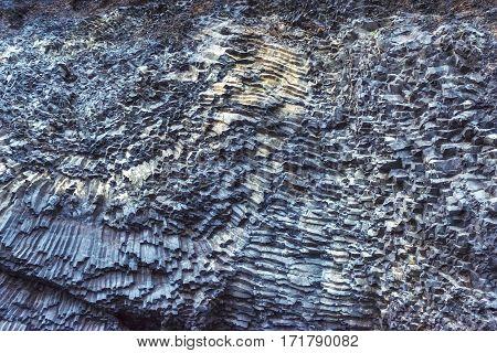Texture mountains Reynisfyal Cape Dyrholaey IBeauty world. celand