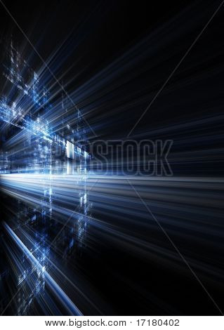 Abstract dynamic background design.