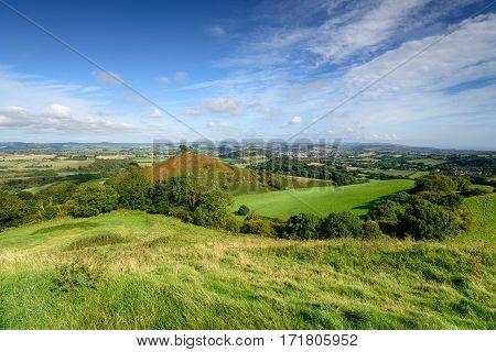 Comer's Hill In Dorset