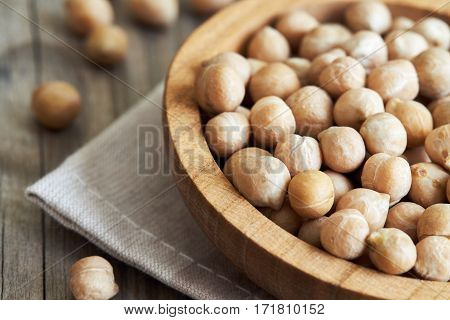 Closeup Of Chickpeas