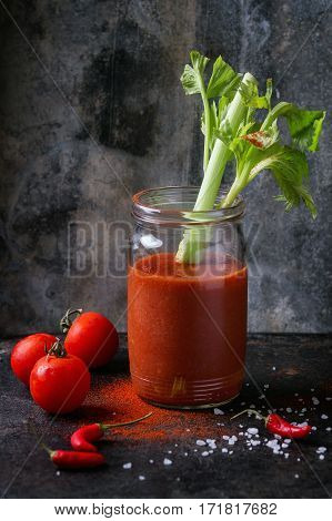 Tomato And Paprika Juice