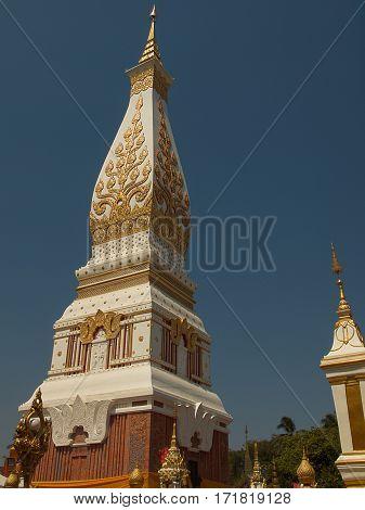 wat phra that panom at Nakhon Phanom Thailand.