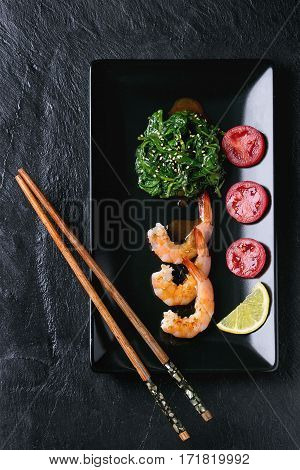 Spinach And Shrimps