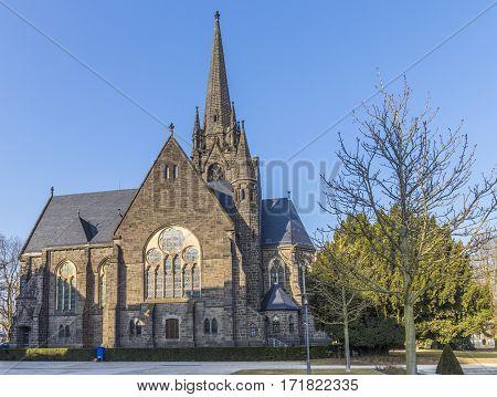 Famous Church - Dankeskirche - In Bad Nauheim