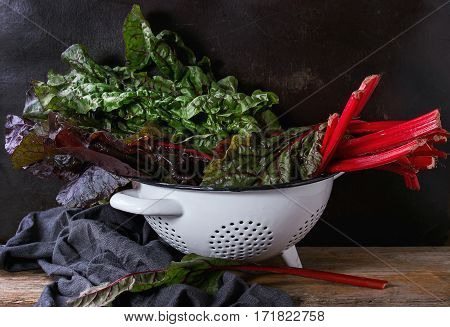 Chard Mangold Salad Leaves