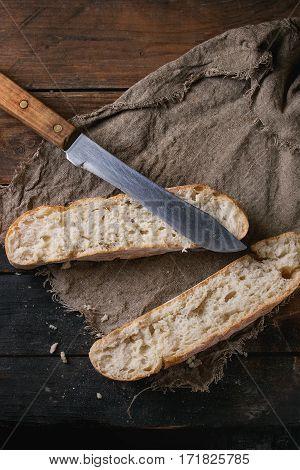 Fresh Sliced Bread