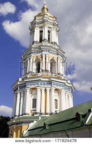 orthodox church dome cupolas Kiev Lavra monastery