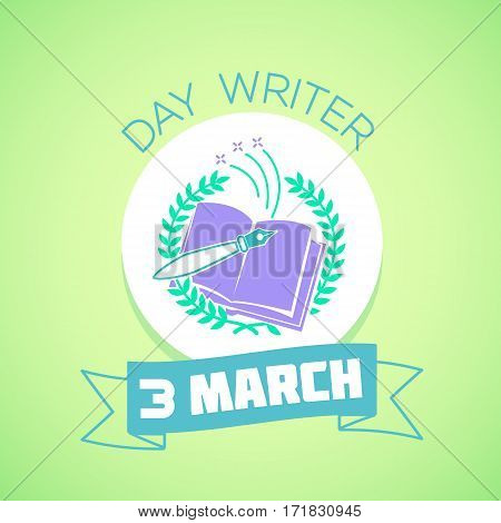 3 March  Day Writer