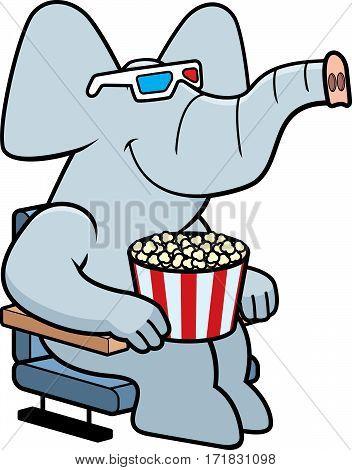 Cartoon Elephant 3D Movies