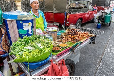 Thai Street Food, Grilled Chicken