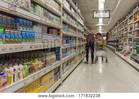 Many Types Of Milk And Dairy Products
