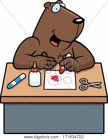Cartoon Groundhog Crafts